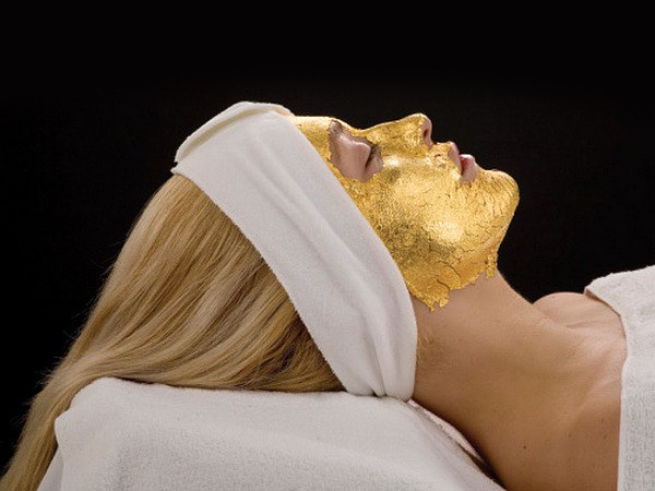24 Karat Gold Facials available in Dubai